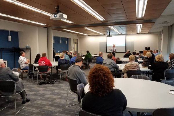 Midwest Cyber Center October Cyber Coffee at Southwestern Illinois College
