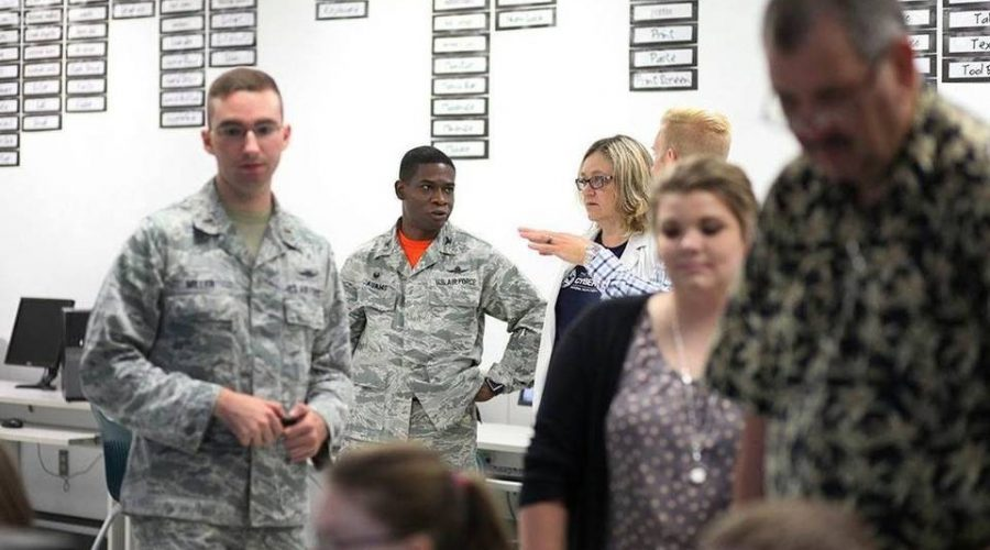 Scott emphasizes importance of cybersecurity with AFA CyberCamp