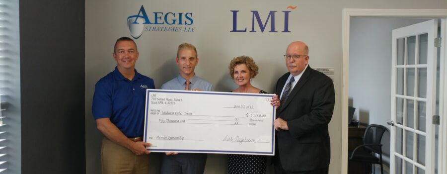 LMI Infuses Cyber Technology and Research Lab with $50,000 to Support Security Initiatives