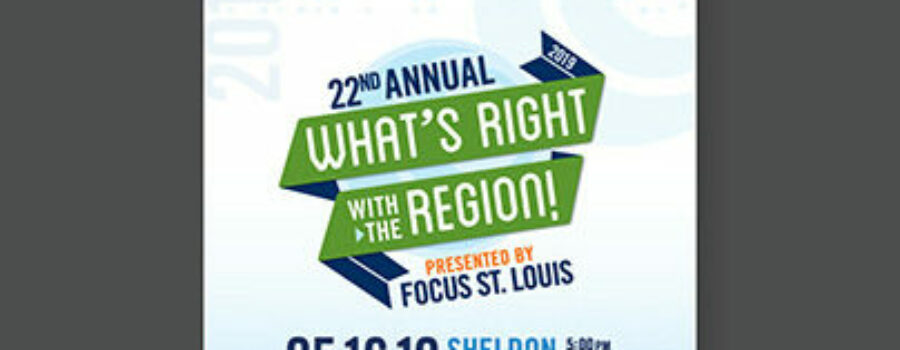 """Celebrating """"What's Right with the Region"""""""