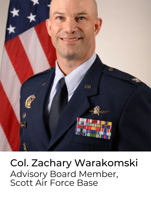 Col. Zachary Warakomski, Advisory Board Memebr
